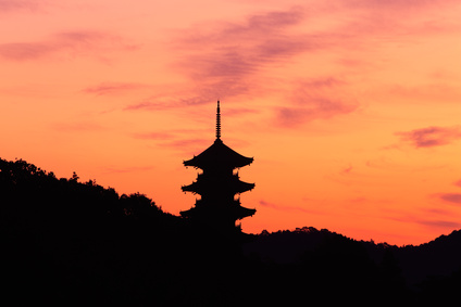 備中国分寺の朝