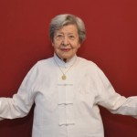 Senior Woman Doing Qigong 1