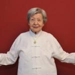 Senior Woman Doing Qigong 1