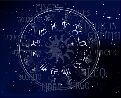 Horoscope - sky zodiac signs