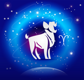 Zodiac Background: The Aries