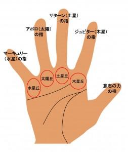 5指の手相(1)