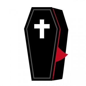 棺 十字架