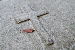 十字架 墓